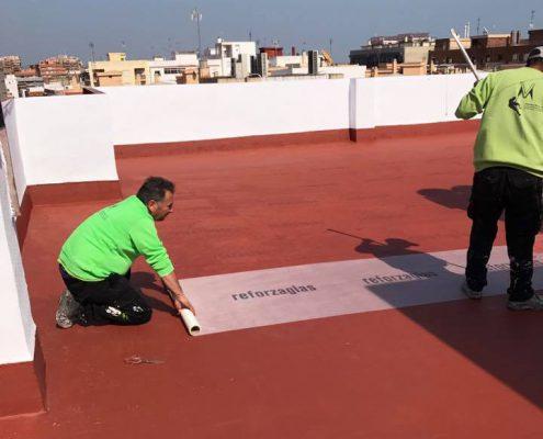 impermeabilización de terrazas, impermeabilizaciones, impermeabilizacion cubiertas
