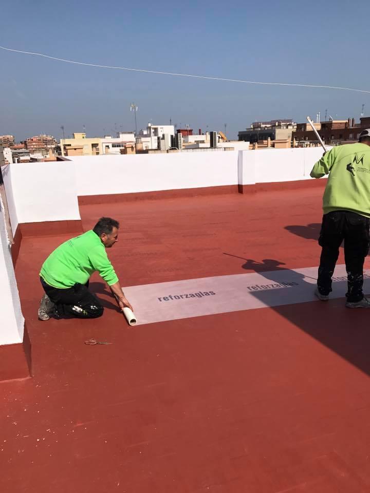 Impermeabilizaci n de terrazas tejados cubiertas - Impermeabilizacion de tejados ...