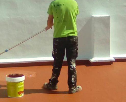 trabajos de pintura