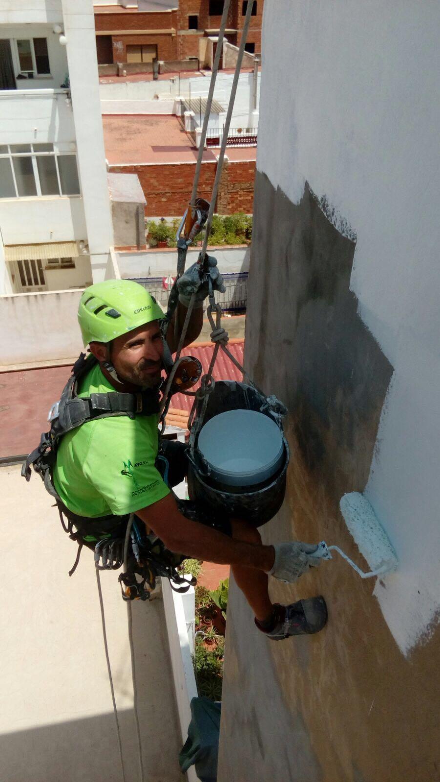 Trabajos en altura valencia y comunidad valenciana en for Saneamientos valencia