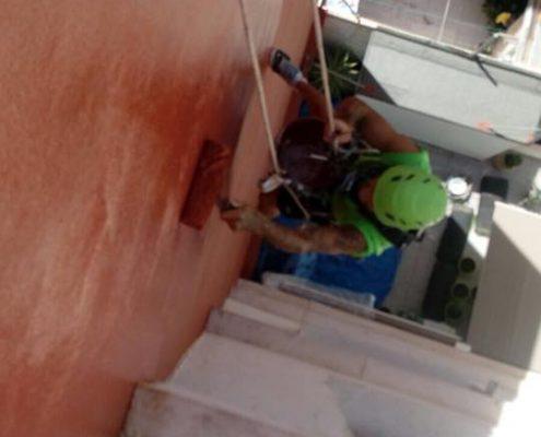 trabajos verticales cubiertas, impermeabilización terrazas