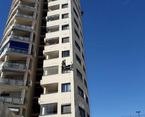 trabajos verticales, rehabilitacion edificios valencia, rehabilitacion de edificios valencia,