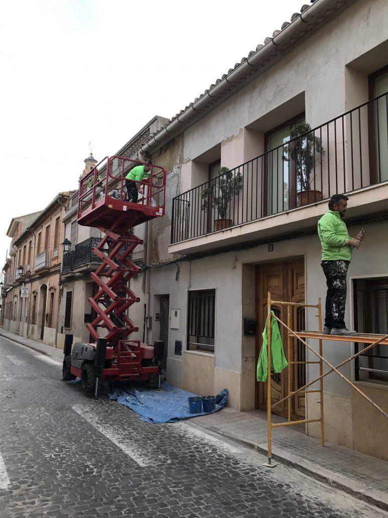reparacion de fachadas valencia