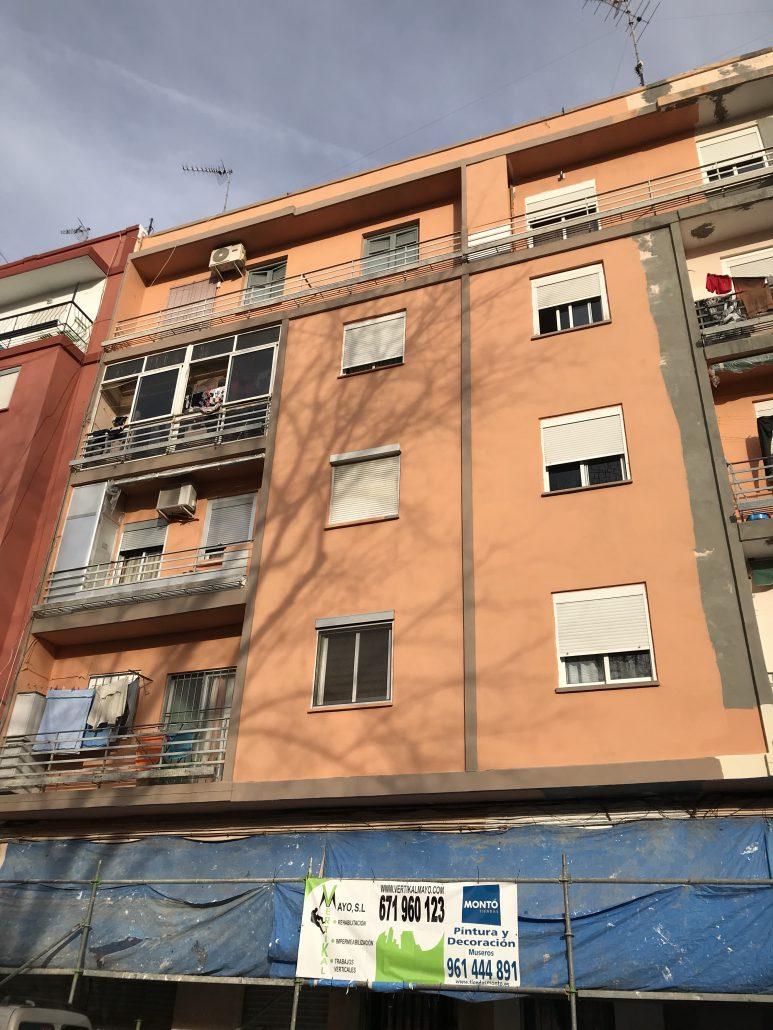Rehabilitacion fachadas valencia reparaci n reformas for Saneamientos valencia