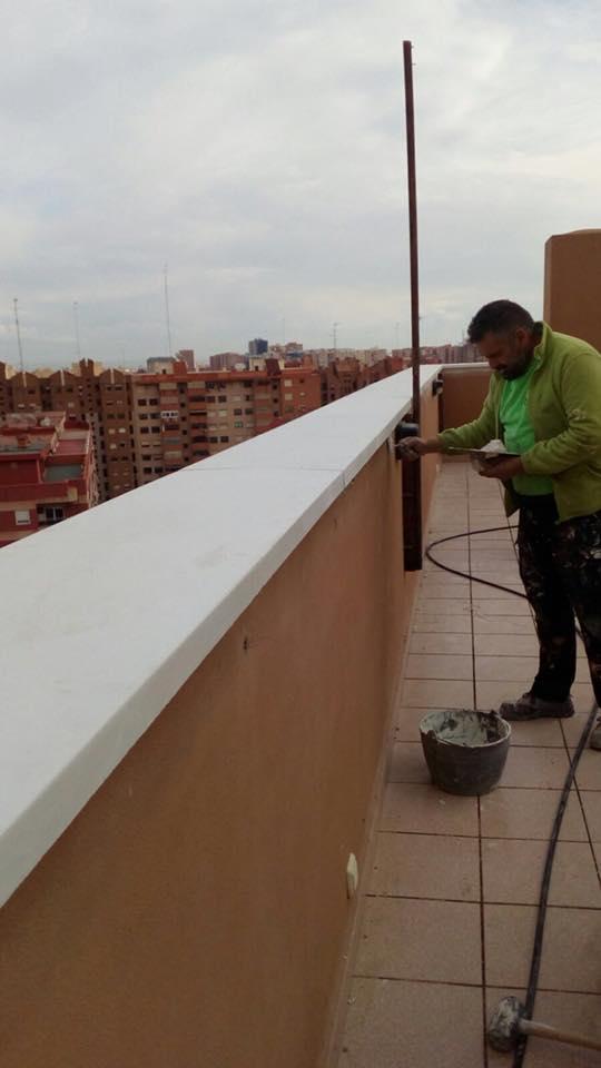 Empresas trabajos verticales en valencia fachadas albardillas terrazas - Empresas construccion valencia ...