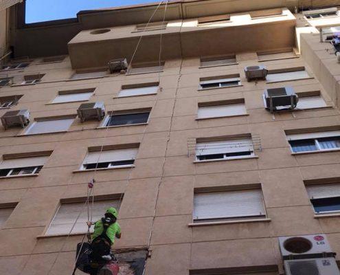 restauracion de fachada valencia